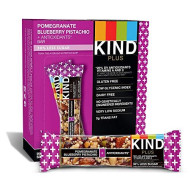 Kind, Bar Plus Pmgrnte Blubry P, 1.4 Oz, (Pack Of 12)