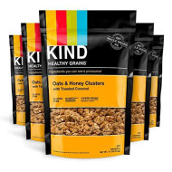 Kind, Clusters Oats Hny Tst Ccnut Ba, 11 Oz, (Pack Of 6)