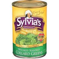 Sylvias, Collard Greens Ssnd, 14.5 Oz, (Pack Of 12)
