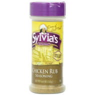 Sylvias, Ssnng Rub Chckn, 4 Oz, (Pack Of 12)