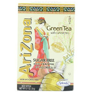 Arizona, Tea Mix Sf Stix Grn Iced, 0.7 Oz, (Pack Of 12)