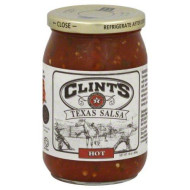 Clints, Salsa Texas Hot, 16 Oz, (Pack Of 6)
