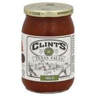 Clints, Salsa Texas Mild, 16 Oz, (Pack Of 6)