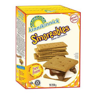 Kinnikinnick, Cracker Smoreable Grhm Wf Gf, 8 Oz, (Pack Of 6)