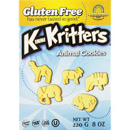 Kinnikinnick, Cookie Anml Vnla Krttr Gf, 8 Oz, (Pack Of 6)