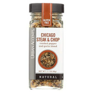 Urban Accents, Ssnng Chicago Steak & Chop, 3.1 Oz, (Pack Of 4)