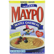 Maypo, Oatmeal Inst Maple, 14 Oz, (Pack Of 12)