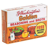 George Washington, Broth Ssnng Golden, 1 Oz, (Pack Of 24)