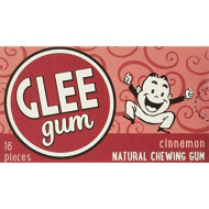 GLEE GUM, GUM CINNAMON, 16 PC, (Pack of 12)