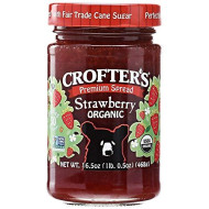 Crofters, Conserve Strwbrry Org, 16.5 Oz, (Pack Of 6)