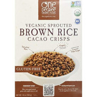 One Degree, Cereal Rice Cacao Crisp B, 10 Oz, (Pack Of 6)