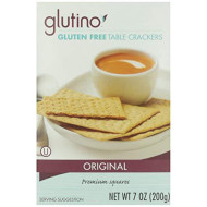 Glutino, Cracker Tbl Style Gf, 7 Oz, (Pack Of 12)