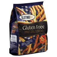 Glutino, Pretzel Stck Bag Wf Gf, 8 Oz, (Pack Of 12)