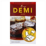 Savory Choice, Glace Demi Beef, 2.6 Oz, (Pack Of 12)