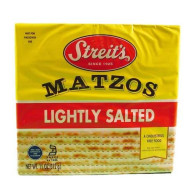 Streits, Matzo Lightly Salted, 11 Oz, (Pack Of 12)