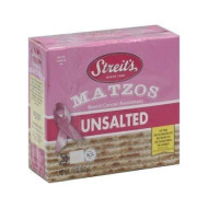 Streits, Matzo Unsalted, 11 Oz, (Pack Of 12)