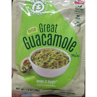 Produce Partners, Mix Ssnng Guacamole Mild, 1 Oz, (Pack Of 12)