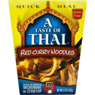 Taste Of Thai, Noodle Qck Meal Red Curry, 5.75 Oz, (Pack Of 6)