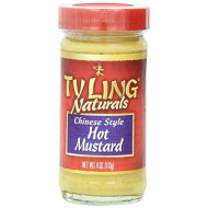 Ty Ling, Mustard Chinese Hot, 4 Oz, (Pack Of 12)