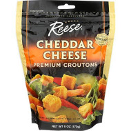 Reese, Crouton Chdr Chs, 6 Oz, (Pack Of 12)