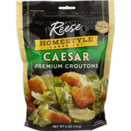 Reese, Crouton Hmstyle Caesar, 5 Oz, (Pack Of 12)