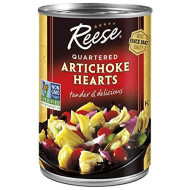 Reese, Artichoke Hrts Qtr, 14 Oz, (Pack Of 12)