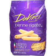 Davinci, Pasta Penne Rigate, 16 Oz, (Pack Of 12)