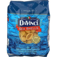 Davinci, Pasta Sea Shells, 16 Oz, (Pack Of 12)
