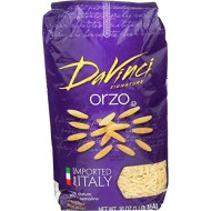 Davinci, Pasta Orzo, 16 Oz, (Pack Of 12)