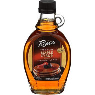 Reese, Syrup Maple Pure, 8 Oz, (Pack Of 12)