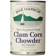Bar Harbor, Soup Chwdr Clam Corn, 15 Oz, (Pack Of 6)