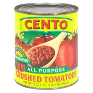 Cento, Tomato Crushed, 28 Oz, (Pack Of 12)