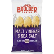 Boulder Canyon, Chip Cut Mltvngr& Seaslt, 6.5 Oz, (Pack Of 12)