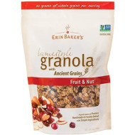 Erin Bakers, Granola Hmstyl Frt & Nut, 12 Oz, (Pack Of 6)