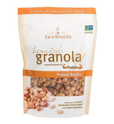 Erin Bakers, Granola Hmstyl Pnut Bttr, 12 Oz, (Pack Of 6)