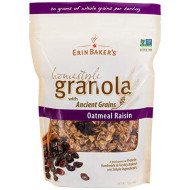 Erin Bakers, Granola Hmstyl Oatml Raisin, 12 Oz, (Pack Of 6)