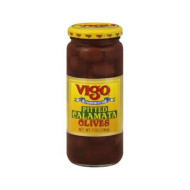 Vigo, Olive Calamata Pitted, 7 Oz, (Pack Of 12)