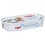 Vigo, Anchovy Flat, 2 Oz, (Pack Of 25)