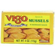 Vigo, Mussels Escabeche, 4 Oz, (Pack Of 10)