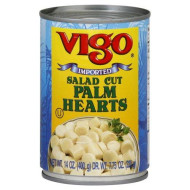 Vigo, Palm Heart Salad Cut, 14 Oz, (Pack Of 12)
