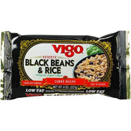 Vigo, Rice Mix & Blk Bean, 8 Oz, (Pack Of 12)