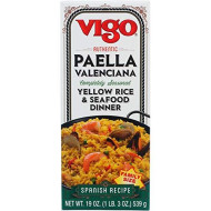Vigo, Rice Mix Paella Yllw, 19 Oz, (Pack Of 6)