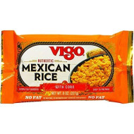 Vigo, Rice Dnnr Mex Styl Bag, 8 Oz, (Pack Of 12)