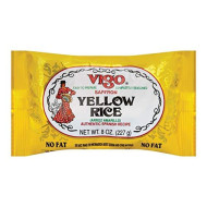 Vigo, Rice Yellow, 8 Oz, (Pack Of 12)