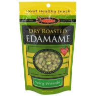 Sea Point Farms, Edamame Dry Rstd Wasabi G, 3.5 Oz, (Pack Of 12)