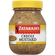 Zatarains, Ssnng Mustard Creole, 5.25 Oz, (Pack Of 12)
