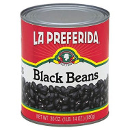 La Preferida, Bean Black, 30 Oz, (Pack Of 12)