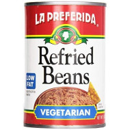 La Preferida, Bean Refried Vegetarian, 16 Oz, (Pack Of 12)