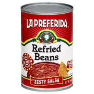 La Preferida, Bean Refried Zesty Salsa, 16 Oz, (Pack Of 12)
