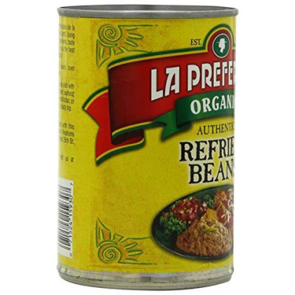 La Preferida, Bean Refried Authentic Or, 15 Oz, (Pack Of 12)